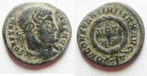 Ancient Coins - CONSTANTINE I AE 3. NICE SHINY PATINA