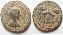 Ancient Coins - Coele Syria. Damascus under Otacilia Severa (AD 244-249). AE 31mm, 15.54g).