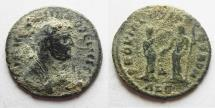 Ancient Coins - DIOCLETIAN. (AD 284-305) Follis. Alexandria. AS FOUND