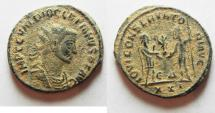 Ancient Coins - BEAUTIFUL DESERT PATINA. DIOCLETIANUS AE ANTONINIANUS