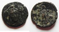 Ancient Coins - VERY RARE: Pamphylia, Side AE18