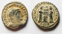 Ancient Coins - BEAUTIFUL DESERT PATINA. CONSTANTINE I THE GREAT AE 3