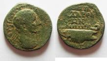 Ancient Coins - DECAPOLIS. GADARA. GORDIAN III. AE 26. WITH GALLEY