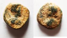 Ancient Coins - DECAPOLIS. GERASA. LUCIUS VERUS AE 12