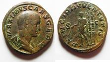 Ancient Coins - Maximus (Caesar, 235/6-238). Æ Sestertius