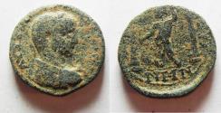 Ancient Coins - DECAPOLIS. DIUM. ELAGABALUS AE 18