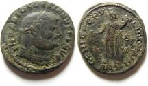 Ancient Coins - CHOICE DIOCLETIAN LARGE AE FOLLIS , ANTIOCH MINT