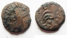 Ancient Coins - NEEDS CLEANING: Judaea, Antonius Felix, Roman Procurator, 52-60 AD, AE Prutah