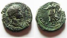 Ancient Coins - JUDAEA, Caesarea Maritima. Trajan. AD 98-117. Æ 21