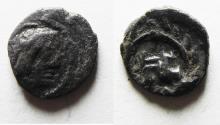 Ancient Coins - NABATAEA. Syllaeus. 9 BC. AR 1/4 Drachm