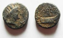 Ancient Coins - PHOENICIA. SIDON Pseudo-autonomous issue. 1ST CENT. A.D
