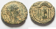 Ancient Coins - Syria. Coele Syria. Damascus under Caracalla (AD 198-217). AE 24mm, 8.99gm.
