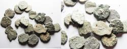 Ancient Coins - JUDAEA. LOT OF 20 AS FOUND BIBLICAL WIDOW'S MITE COINS