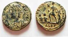 Ancient Coins - AS FOUND: CONSTANS AE CENT. ALEXANDRIA MINT