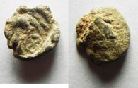 Ancient Coins - ROMAN PROVINCIAL. Cappadocia. Caesarea. Lead token