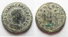 Ancient Coins - BEAUTIFUL CARUS ANTONINIANUS AS FOUND