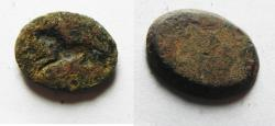 Ancient Coins - ANCIENT HOLY LAND BRONZE INTAGLIO, ROMAN OR EARLIER. 100 A.D