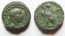 Ancient Coins - EGYPT ALEXANDRIA. GALLIENUS BILLON TETRADRACHM