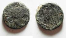 Ancient Coins - Ptolemaic Kingdom. Ptolemy I OR II. AE 19. ALEXANDRIA MINT