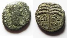 Ancient Coins - JUDAEA. SEPPHORIS . TRAJAN AE 23