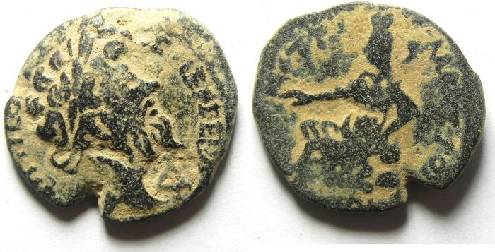 Ancient Coins - ARABIA , PETRA - SEPTEMIUS SEVERUS AE 25