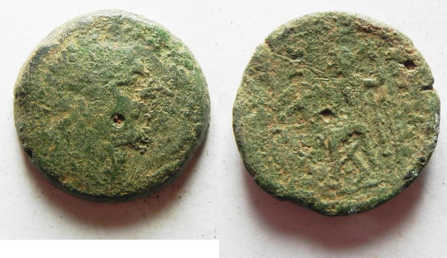 Ancient Coins - GREEK AE COIN