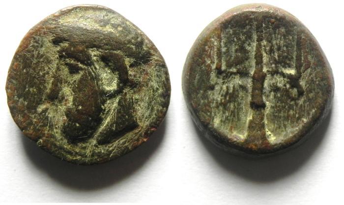 Ancient Coins - CRETE , 2ND -1ST CENT. B.C?