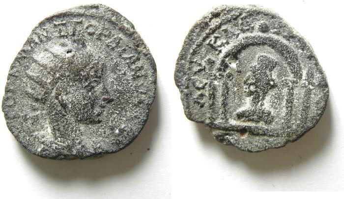 Ancient Coins - Roman Provincial AE 24mm. Syria. Coele Syria. Leucas ad Chrysaoram. Under Gordian III (AD 238-244).