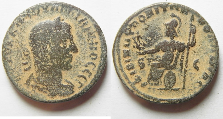 Ancient Coins - ARABIA, PHILIPPOPOLIS. PHILIP I, 244-249 AD. AE 28mm
