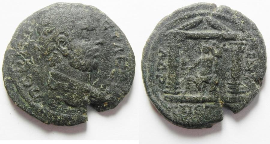 Ancient Coins - Arabia. Petra. Rare coin for Caracalla. Ae 29