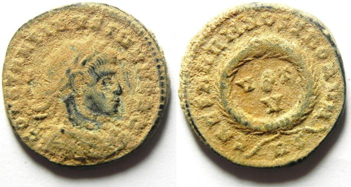 Ancient Coins - CONSTANTINE II AE 3 , NICE QUALITY AS FOUND