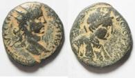 Ancient Coins - Arabia. Bostra under Elagabalus (AD  218-222). AE 24mm, 8.32gm.