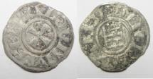 World Coins - MEDIEVAL. CRUSADER STATES. KINGDOM OF JERUSALEM. BALDWIN III (1143-1146). BILLON DENIER