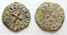 World Coins - MEDIEVAL. Crusader States. Kingdom of Jerusalem. Amaury (1163-1174). Billon denier