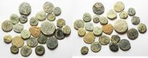 Ancient Coins - AS FOUND: LOT OF 24 MIXED ANCIENT BRONZE COINS