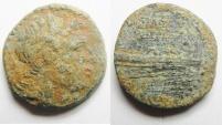 Ancient Coins - SELEUKID KINGDOM. DEMETRIUS II AE 19. TYRE