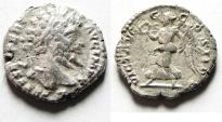 Ancient Coins - Septimius Severus AR Denarius, 193 - 211 AD