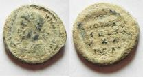 Ancient Coins - WITH LIGHT SANDY DIRT, CONSTANTINE II AE 3