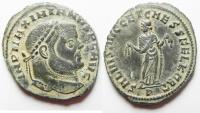 Ancient Coins - Maximianus. A.D. 286-305. Æ follis. Carthage