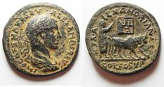 Ancient Coins - Arabia. Bostra. Under Severus Alexander (AD 222-235). Very Rare large coin!!!!!!