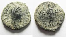 Ancient Coins - CONSTANTINE I AE 4 . POSTHUMOUS ISSUE. AS FOUND. ALEXANDRIA
