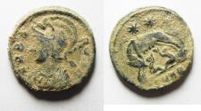 Ancient Coins - ORIGIANL DESERT PATINA. CONSTANTINE I COMMEMORATIVE ISSUE. SHE-WOLF AE 3