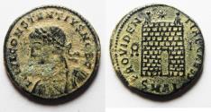 Ancient Coins - ORIGINAL DESERT PATINA. CONSTANTIUS II AE 3 . ALEXANDRIA