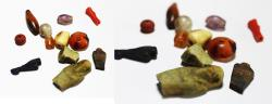 Ancient Coins - ANCIENT EGYPT , NEW KINGDOM - LATE PERIOD BEADS & OTHERS