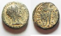 Ancient Coins - Judaea. Gaba under Trajan (AD 98-117). AE 24mm, 13.18g. Struck in civic year 171 (AD 112/3).