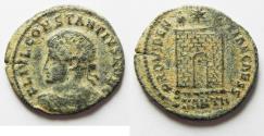 Ancient Coins - CONSTANTIUS II AE 3 . AS FOUND