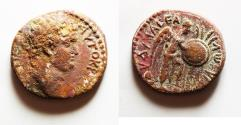 Ancient Coins - JUDAEA, Judaea Capta Series. Titus, as Caesar. 69-79 AD. Æ20