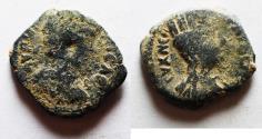 Ancient Coins - ARABIA. DECAPOLIS. BOSTRA . MARCUS AURELIUS AE 15