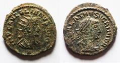 Ancient Coins - AURELIAN & VABALATHUS AE ANTONINIANUS. AS FOUND