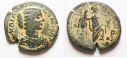 Ancient Coins - Arabia. Rabbathmoba under Julia Domna (AD 193-211). AE 29mm , 13.50gm